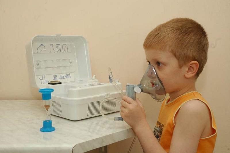Ингаляция домашних условиях детям